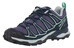 Salomon X Ultra Prime Hiking Shoes Women artist grey-x/deep blue/lucite green